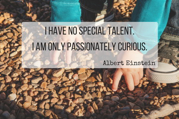I am only passionately curious.