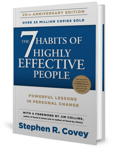 The 7 Habits of Highly Effective People: Powerful Lessons in Personal Change by Stephen R. Covey