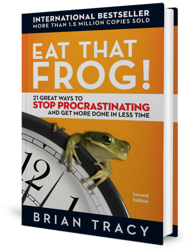 Eat That Frog: 21 Great Ways to Stop Procrastinating and Get More Done in Less Time by Brian Tracy